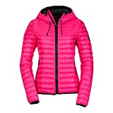 Superdry Core Down Hooded Jacket, Größe_Damen:L (UK 14), Farbe:pacific pink
