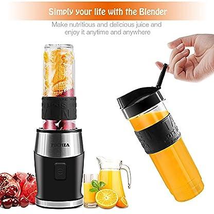 Mixer-Smoothie-Maker-Fochea-Standmixer-700-Watt-Blender-3-in-1-Multifunktion-Smoothiemaker-Fleisch-ZerkleinererIce-Crusher-Kaffeemhle24000UMin-mit-570ml-Sport-Flasche-BPA-frei-Tritan