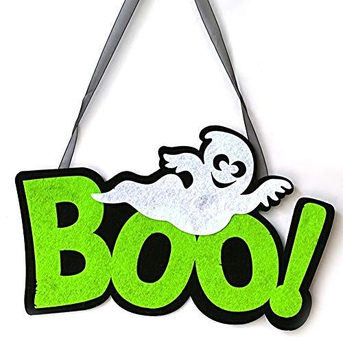 Woven-Zeichen hängend Spooky Halloween-Wand-Tür-Dekoration Prop Haus Party Decor Crafts ()