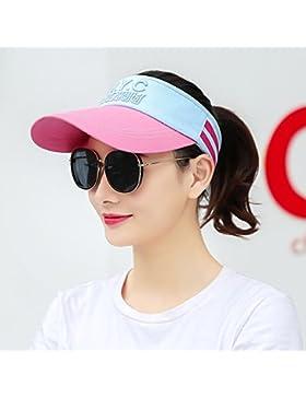 Cappelli per outdoor piscina cap contro raggi ultravioletti cappuccio sun sunscreen,regolabile di Rose Red