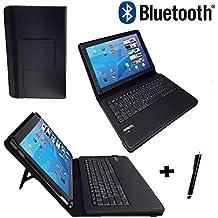 Onda V9193G Air Z3735–Teclado alemán Tablet Funda con función atril–9.7pulgadas Negro Bluetooth Teclado