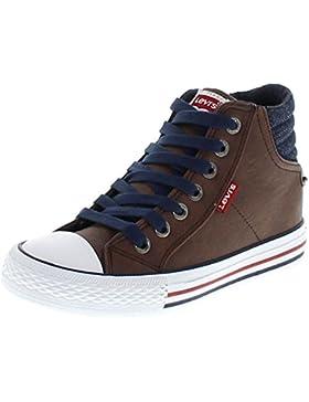 Levi´s Footwear NEW YORK HIGH I 1744 Dark Brown/ Kinder Schnürstiefel/ Jungen und Mädchen Kinderschuhe