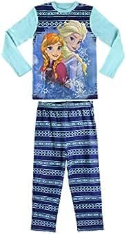 7b2067c05 1719 Pijama de algodón para niñas con Motivo Frozen ...
