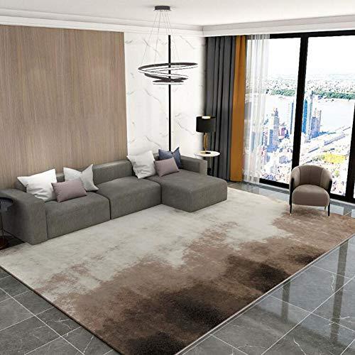 QIDI Nordic Gradient Light Luxury Living Room Tappeto Camera da Letto  Moderno Minimalista Comodino Coperta Tavolino Mat Protezione Ambientale  Morbido ...