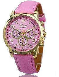 Cloudwood Geneva Chronograph Analogue Pink Dial Men's Watch - W-06