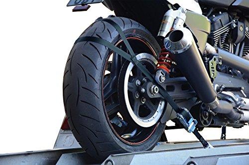 allsafe Transport Sicherung für Motorrad - Hinterradbefestigung Ergänzungskit