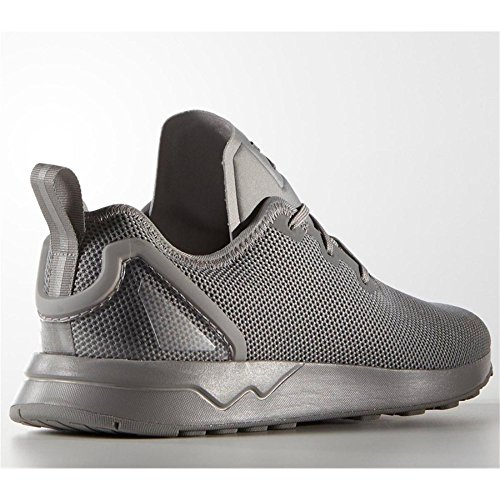 Adidas ZX Flux ADV Asymmetrical Shoes (S79052) ch solid grey/ch solid grey/spring yellow