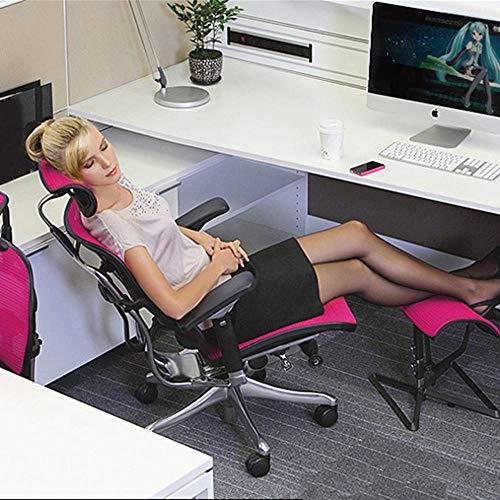 51kNwOkykfL - Moshbu Ruedas para Muebles de Oficina 5Pcs, Rueda giratoria de Silla de Nylon de PU de Primera Calidad para Proteger el Juego de computadora rodante Suave y el Piso de reemplazo de Servicio Pesado