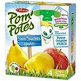 Pom'potes Compotes Pomme Et Poire, Sans Sucres Ajoutés - ( Prix Par Unité ) - Envoi Rapide Et Soignée