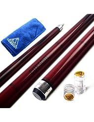 """CUESOUL SOOCOO Serie 58 """"19 oz 11.5mm Tip arce Cue Stick con Set Conjunto / eje Protector y Toalla Cue (CSSC-U110)"""