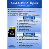 CBSE Class 12 Physics Complete Video Course SD Card