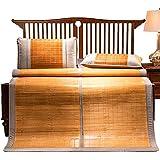 YONG FEI Colchón Fresco, Ropa de Cama de bambú Colchoneta de Paja Colchonetas de Verano