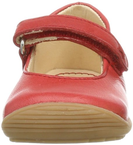 Pololo  Granada berry, Ballerines pour fille Rouge - Rot (berry 326)