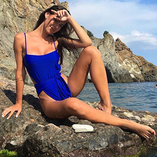 SHENGYUNPIO 2019 New Wrap Around High Cut Leg One Piece Swimsuit Women Swimwear Female Bather Bathing Suit Swim Lady Lace Wrap-around Wrap