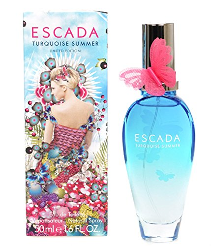 Escada Turqoise Eau de Toilette, Donna, 50 ml