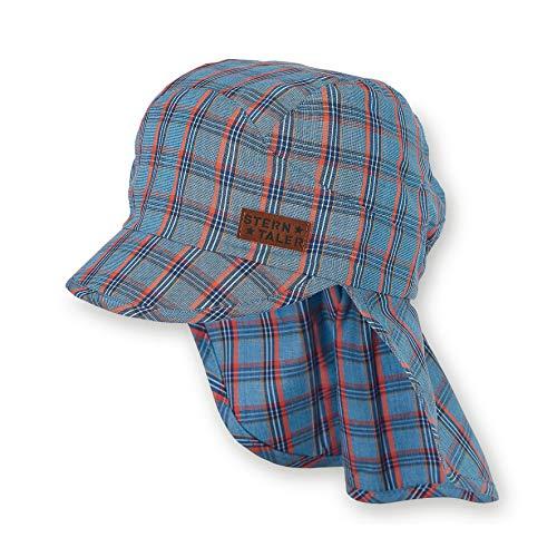 Sterntaler Schirmmütze mit Nackenschutz, Alter: 2-4 Jahre, Größe: 53, Blau...