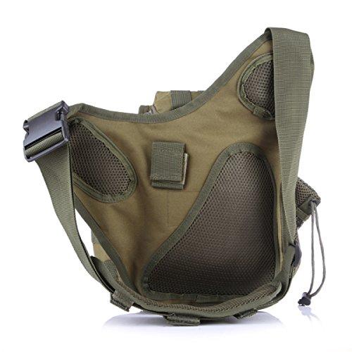 Kameratasche Taktische Militärische Fans Tasche Taschen Outdoor-Freizeit-Schulter-Kurier-Rucksack Sattel 6