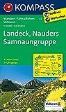 Landeck - Nauders - Samnaungruppe: Wanderkarte mit Aktiv Guide, alpinen Skirouten und Radrouten. GPS-genau. 1:50000: Wandelkaart 1:50 000 (KOMPASS-Wanderkarten, Band 42)