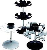 WEDO Stempelträger rund schwarz für 6 Stempel