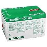 OMNIFIX 40 SOLO (100)Insulinspritzen 1 ml, U-40