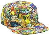 Pokémon Snapback Kappe Charaktere all over printed [Andere Plattform]