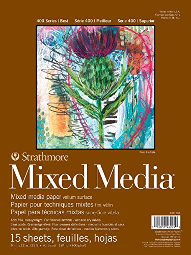 Strathmore 462-109 400 Series Mixed Media Pad, 9