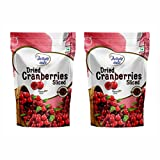 #5: Delight Nuts Dried Cranberries Sliced- 200gm (Pack of 2)