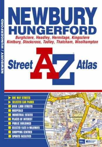 Newbury Street Atlas by Geographers A-Z Map Company (2008-01-16)