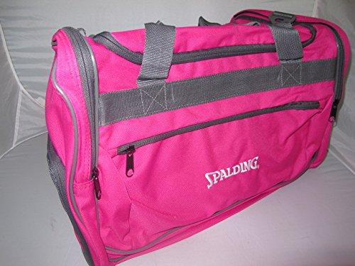 Spalding–Bolsa de deporte, color rosa