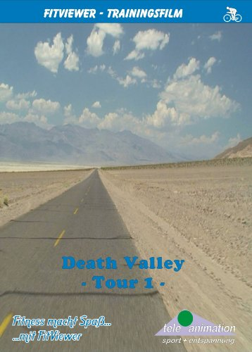 Death Valley - Tour 1 - FitViewer Indoor Video Cycling USA