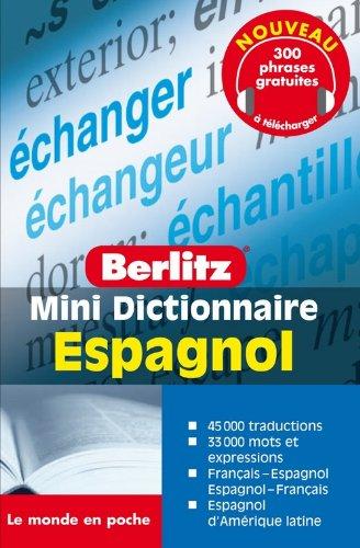 ESPAGNOL mini dictionnaire en français