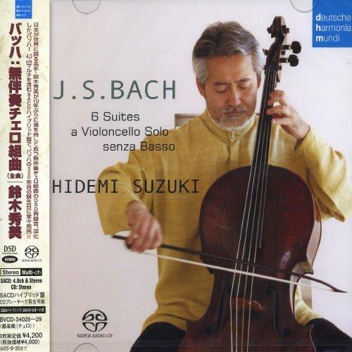 J.S. Bach: Six Cello Suites BWV 1007-1012 [Hybrid SACD] [Japan] by Hidemi Suzuki (2005-03-21)