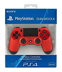 sony playstation dualshock 4 magma red ps4 pc video games. Black Bedroom Furniture Sets. Home Design Ideas