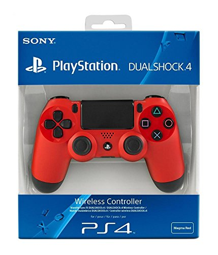 PlayStation 4 - DualShock 4 Wireless Controller, rot (Rot Playstation Controller)