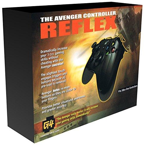 Xbox One Avenger Reflex Cheat-Controller-Erweiterung 2018, nicht für Xbox One S (Aufsatz ohne Controller) (Controller Ps3 Avenger)