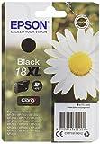 Epson XP30/202/302/405 11.5 ml Ink Cartridge, XL High Capacity, Black, Genuine