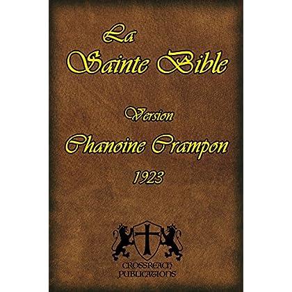 La Sainte Bible (version Chanoine Crampon 1923)