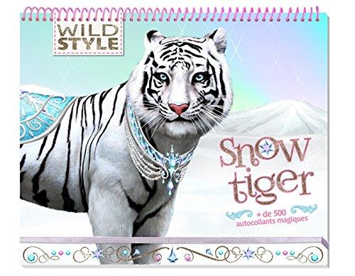 Wild Style - Carnet créatif - Snow tiger par Collectif