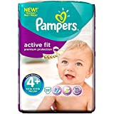 Pampers active Fit Taille Maxi 9-20kg Plus (22) - Paquet de 6