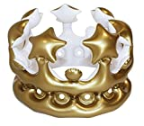 NPW Inflatable Crown Photo Booth Selfie Prop - Queen For The Day Fancy Dress