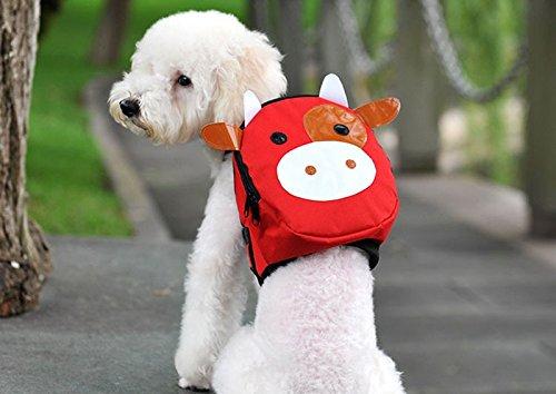 Mochila animalito para tu mascota llevara su agua, sus chuches sus toallitas y bolsas... y tambien tus cosas novedad en tiendas de mascotas peluqueria canina veterinario de OPEN BUY