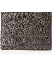 Dirk Bikkembergs 6ad3705dd1301, Portafoglio Uomo, Marrone (Dark Brown 4S), 1x11x14.5 cm (W x H x L)