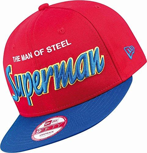 New Era x DC Comics - Casquette Snapback Homme 9Fifty Reverse Hero Word - Superman