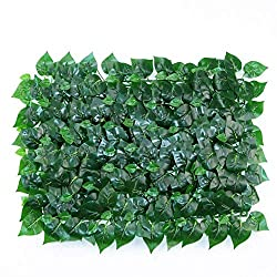 Best Artificial Hedge Fake Greenery Plant Privacy Hedging Mat Home Garden Outdoor Wall Decoration Plastic Garden Patio Terrace Screen (Color : C, Size : 40x60cm),B,40x60cm