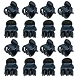 Outus 100 Pack Orchidee Clips Pflanze Orchidee Stützclips, Dunkelgrün