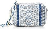 Petite Mendigote Horus, Borsa a tracolla donna blu Bleu (Bleu (Klein)) 5x14x20 cm (W x H x L) - Petite Mendigote - amazon.it