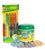 Best US Toy Baby Bath Tubs - Crayola Bathtub Crayons with Crayola Color Bath Drops Review