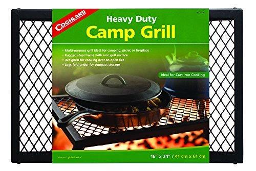 Heavy-duty-camp Grill (Coghlans Heavy Duty Camp Grill - Metallic by Coghlans)
