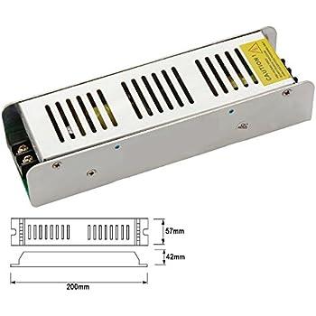 12v 200w led trafo netzteil transformator treiber ac universal adapter geeignet f r lampen rgb. Black Bedroom Furniture Sets. Home Design Ideas