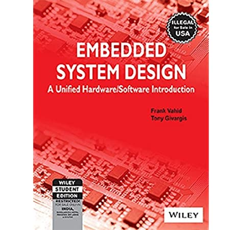 Buy Embedded System Design A Unified Hardware Software Introduction Book Online At Low Prices In India Embedded System Design A Unified Hardware Software Introduction Reviews Ratings Amazon In